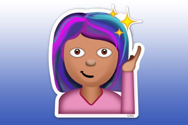 据说要出女生专供版emoji表情包了?