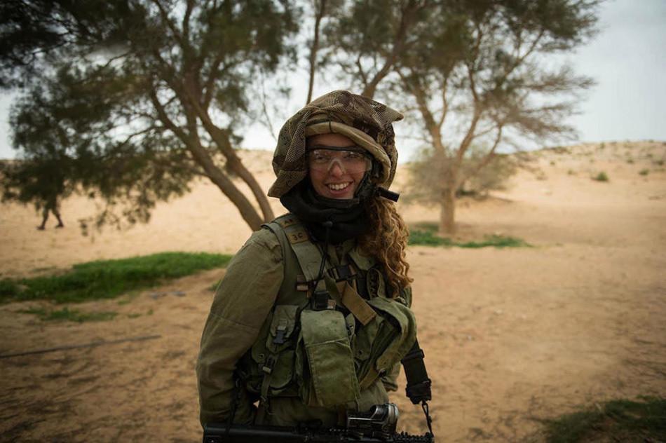 以色列女兵身上的别样风情 - 一统江山 - 一统江山的博客
