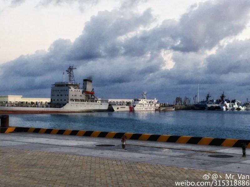 【中越南海填岛规模对比岛礁新照曝光】-突袭网