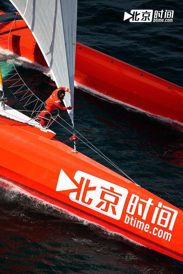 史上首次全程直播无动力帆船越洋航行 - 双梅 - 张静华