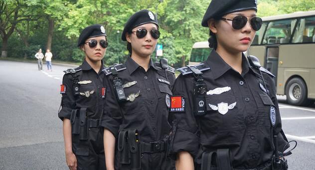 杭州G20女子巡逻队    酷       景       (引) - sun50919 - 牛郎官庄 步履博客的故乡