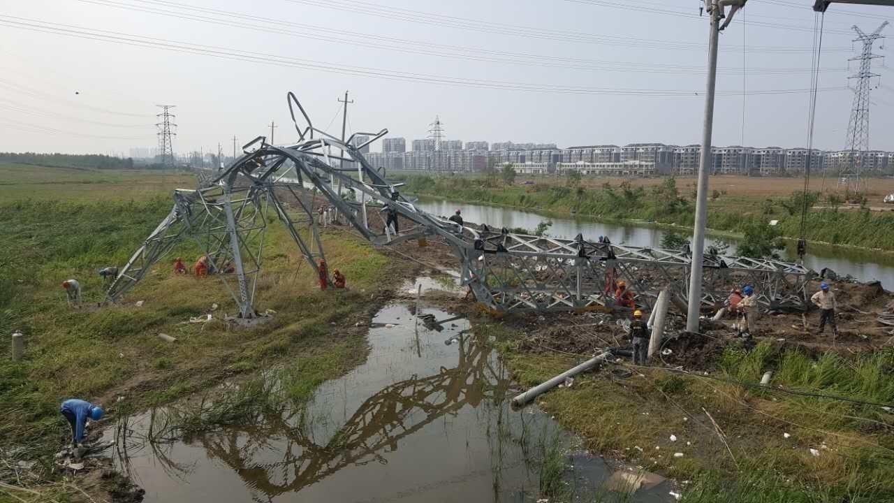 北京时间直击盐城灾区:令人心碎的受灾现场 - 双梅 - 张静华