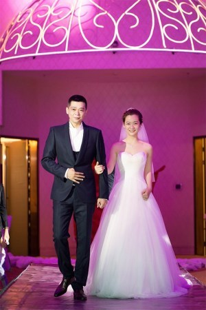 林继东沈陶然婚礼甜出新高度2