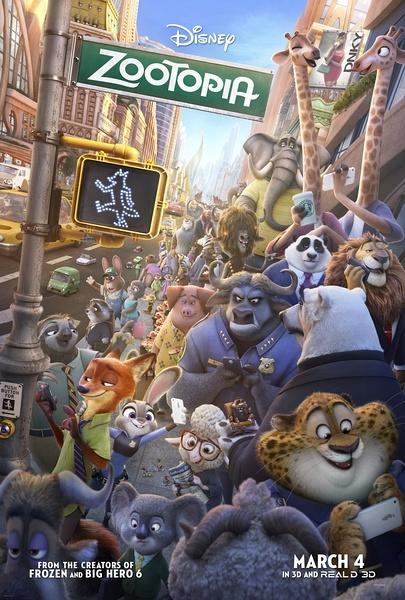 《疯狂动物城》影评:迪士尼的疯狂开挂