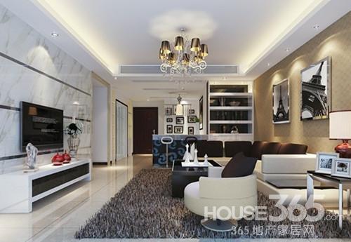 电视背景墙设计:简欧风格的电视背景墙设计