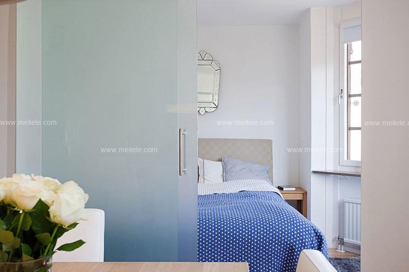 赏析家居隔断效果图 门厅玄关隔断设计更精彩:卧室与书房中