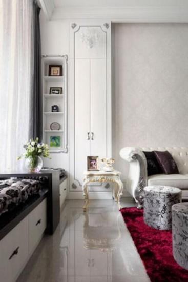 欧式风格沙发背景墙效果图大全