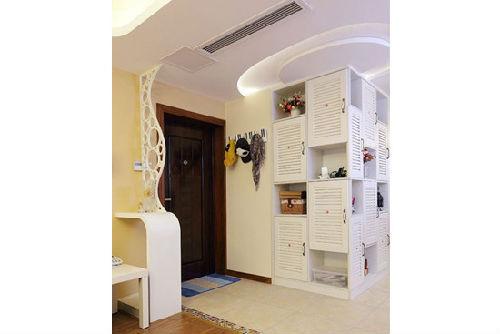最新玄关鞋柜创意装修效果图 打造入门处风景线 高清图片
