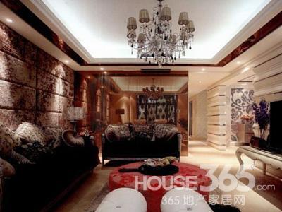 80平米装修样板间:200平米的大户型家居,45万元的超大投入,使这个欧式图片