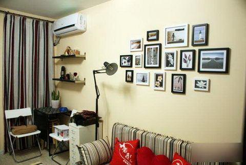 50平米一室一厅装修效果图
