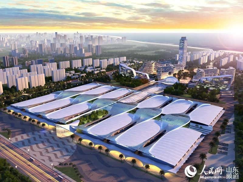 中铁·青岛世界博览城在青岛西海岸新区奠基