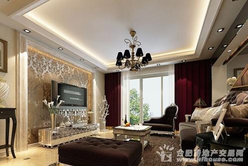2014欧式客厅装修效果图欣赏