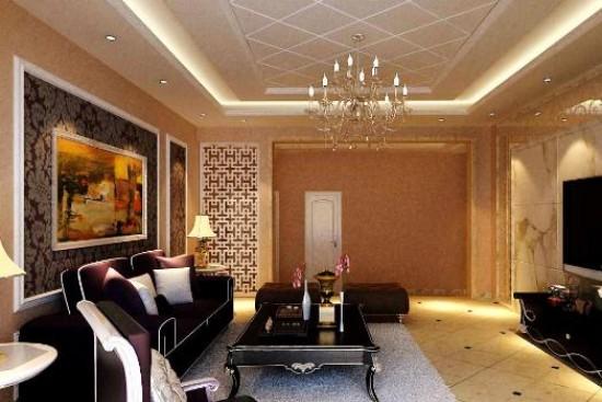 欧式风格沙发背景墙效果图大全-河源房产信息网