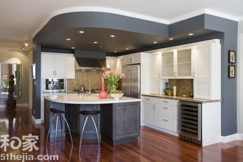 11个中户型开放式厨房设计 餐厨完美一体化