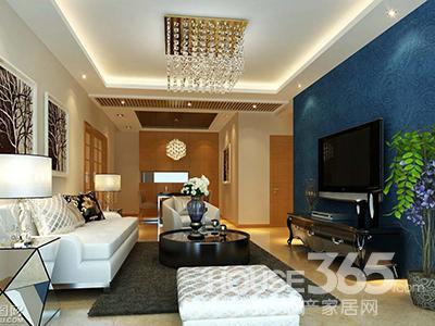 客厅电视背景墙设计 精心打造美家