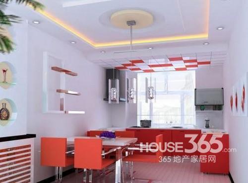 客厅餐桌效果图 现代风格装修晒潮流居室