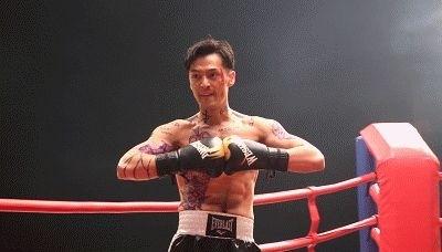 胡歌大秀胸肌纹身抢眼 化身拳击手大秀好身材(图)