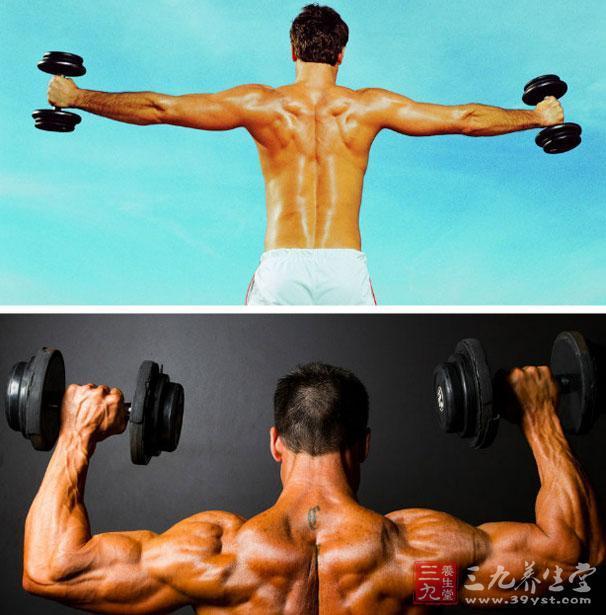 哑铃锻炼方法 巧练哑铃打造宽厚肩膀